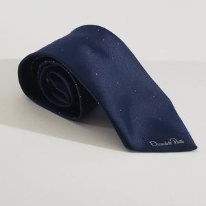 Navy Blue with White Dots Tie